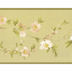 879269 Cherry Blossom Orchard Wallpaper Border