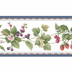 879303 Berry Vine Wallpaper Border