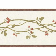 879306 Berry Twig Wallpaper Border