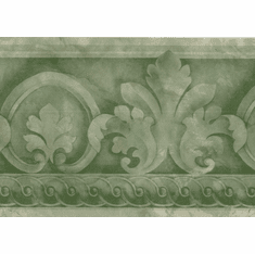 879362 Architectural Wallpaper Border Green