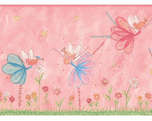 879434 Fairy Wallpaper Border