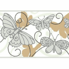 879472 Butterfly Wallpaper Border