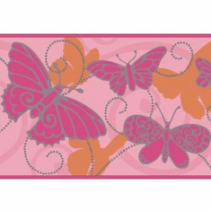 879474 Butterfly Wallpaper Border
