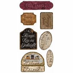 879492 Country Signs Wall Appliques