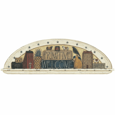 879500 Primitive Welcome Arch Wall Mural