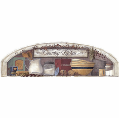 879503 Country Kitchen Arch Accent Mural