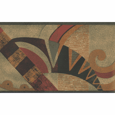 879537 Geometric Art Deco Wallpaper Border
