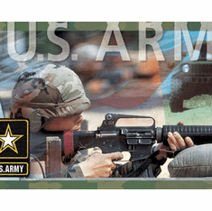 879567 US Army Mural-Style Border