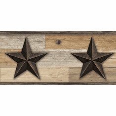879641 Pallet Wood Star Wallpaper Border Browns LG1315bd