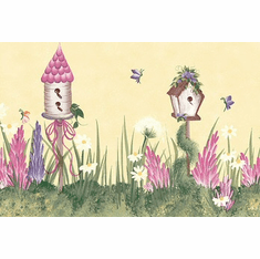 879672 Donna Dewberry Birdhouse Wallpaper Border 240b63971