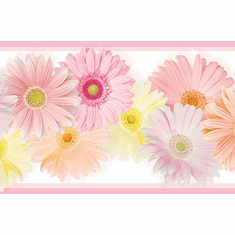 879697 Daisy Chain Wallpaper Border CK83242b