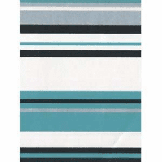 879825 Silver Aqua Black Stripe Wallpaper Border FDB03944