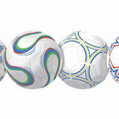 879884 Soccer Balls Primary Wallpaper Border BS5320bd