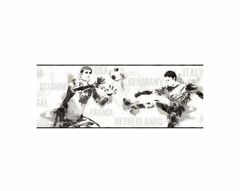 879885 Soccer Players Wallpaper Border BS5316bd