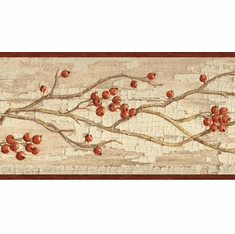 879887 Rosehip Garland Wallpaper Border HAH15171b