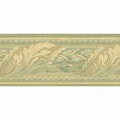 879904 Textured Acanthus Scroll Architectural Wallpaper Border 957b61388 418B245