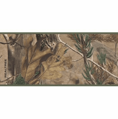 Realtree Camo Wallpaper Border LM7937b