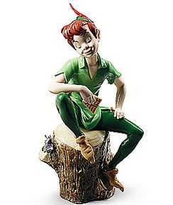 Lladro Disney Peter Pan