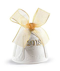 2018 Christmas Bell Golden Lustre