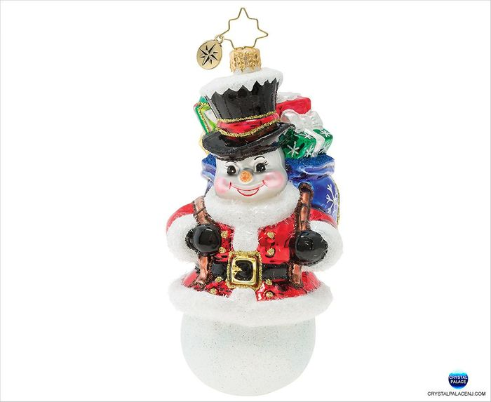 (SOLD OUT) Surprise Santa Snowman!