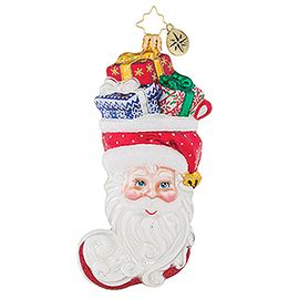 (SOLD OUT) Stuffed Santa