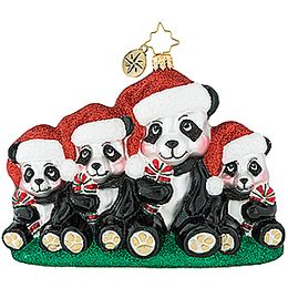 (SOLD OUT) Holiday Panda Portrait