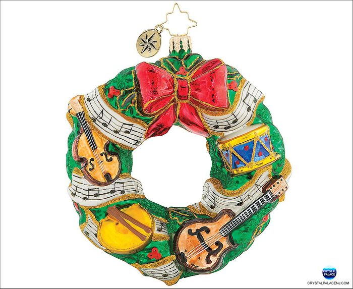 Rhythmic Christmas Wreath