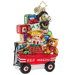 (SOLD OUT) My Little Red Wagon