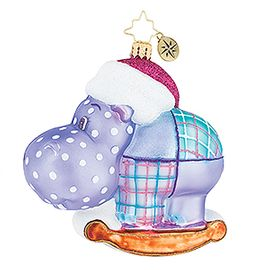 (SOLD OUT) Happy Holiday, Hippo!