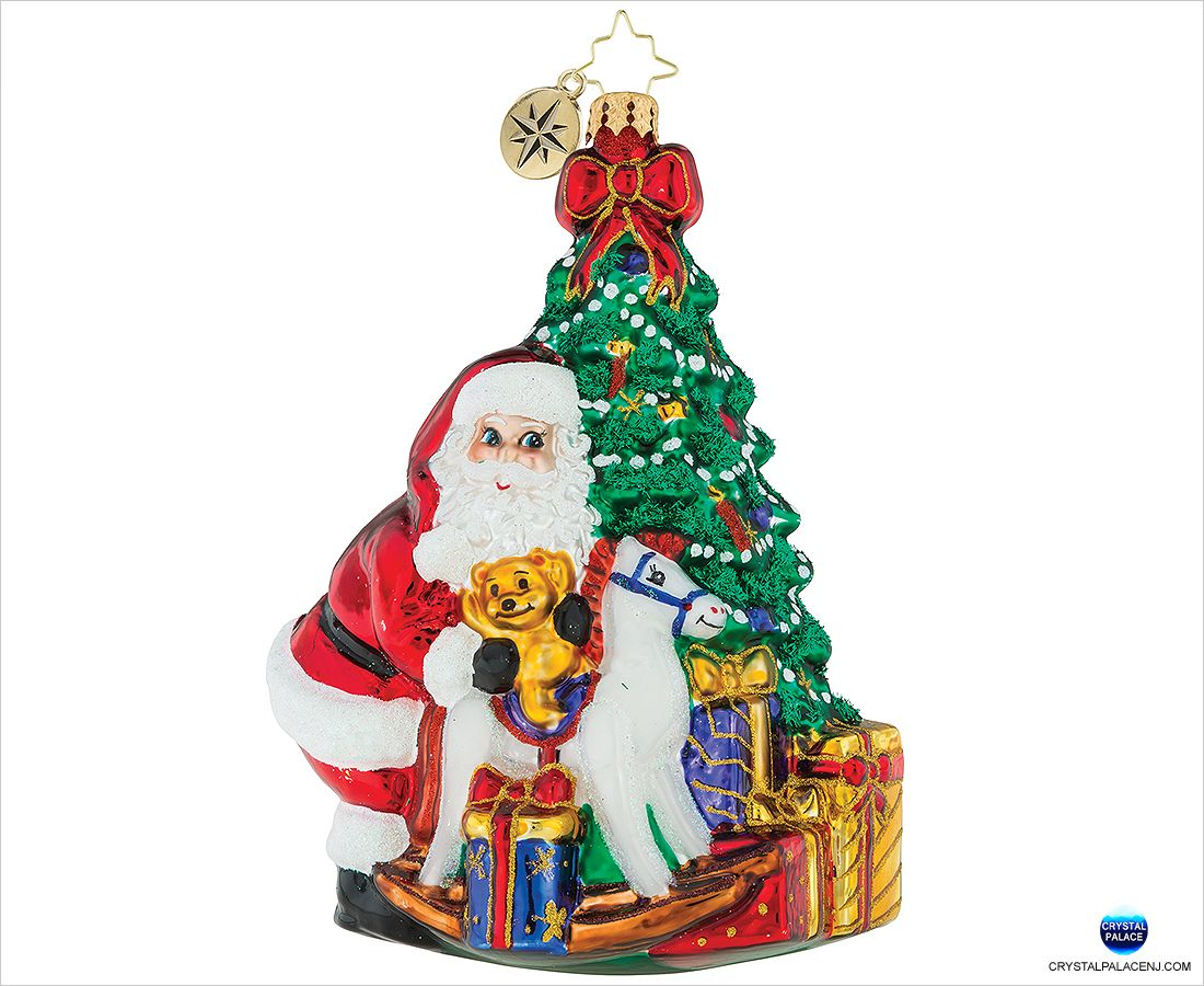 Christopher Radko Forever Together Collectable Ornament Xmas Holiday Decoration