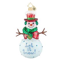 (SOLD OUT) Snow Day Snowman