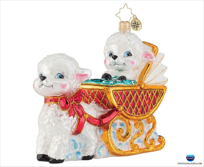 (SOLD OUT) Baby Lamb Sleigh Ride