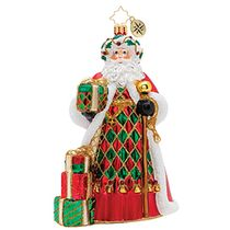 (SOLD OUT) Holiday Harlequin Santa