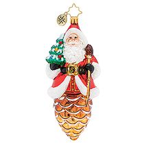 (SOLD OUT) Pine Cone Claus Santa