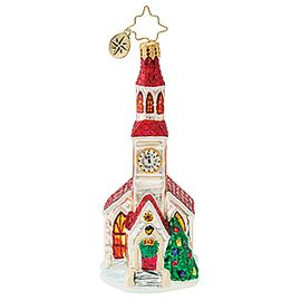 (SOLD OUT) Brilliant Country Steeple Church