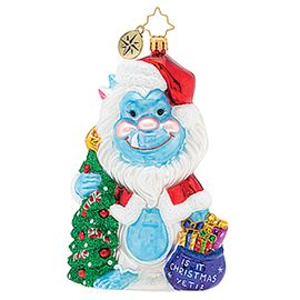 (SOLD OUT)  Is it christmas yeti?
