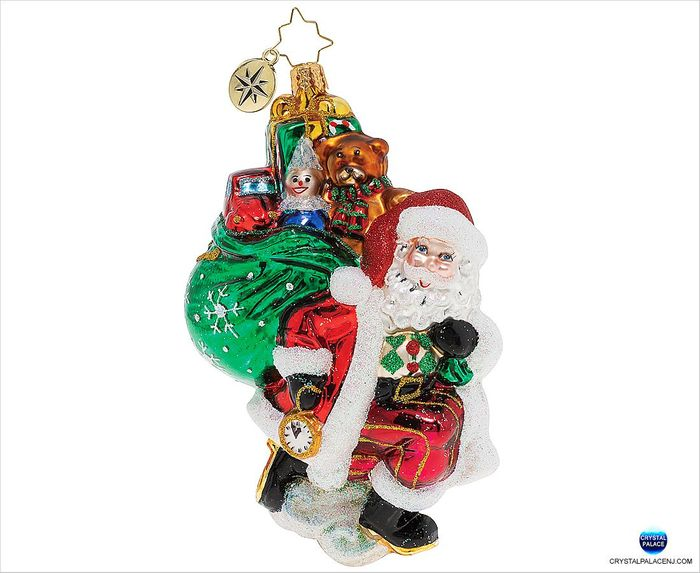 1019876 Christopher Radko Almost Time for Christmas! Ornament