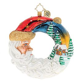 (SOLD OUT) Santa's Silent Night Wreath