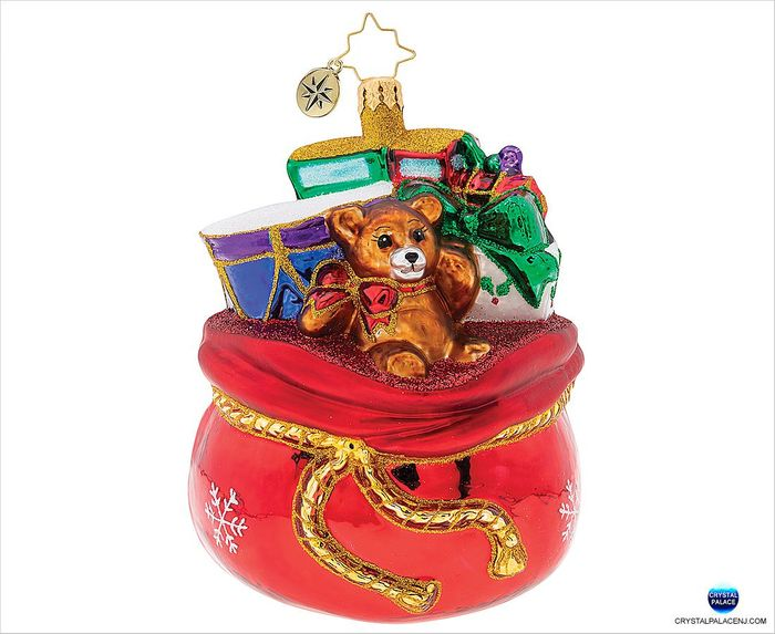 (SOLD OUT) Crimson Satchel of Toys!