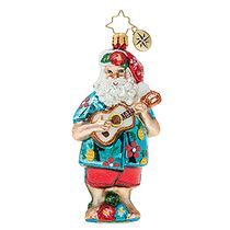 (SOLD OUT) Tropical ukulele santa