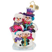 (SOLD OUT)  Our Festive Frosty Family