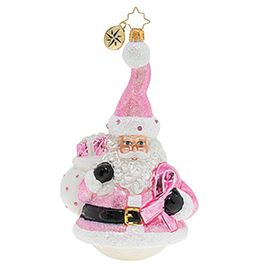 (SOLD OUT) Santa Wears Pink Breast Cancer Charity