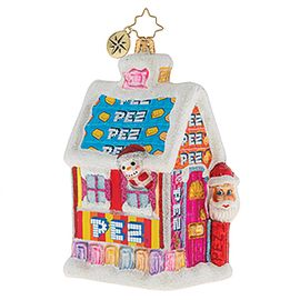 (SOLD OUT) Santa's PEZ House!
