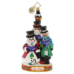 (SOLD OUT)  Festive Trio of carolers