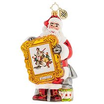 (SOLD OUT) A Rockwell Christmas Santa