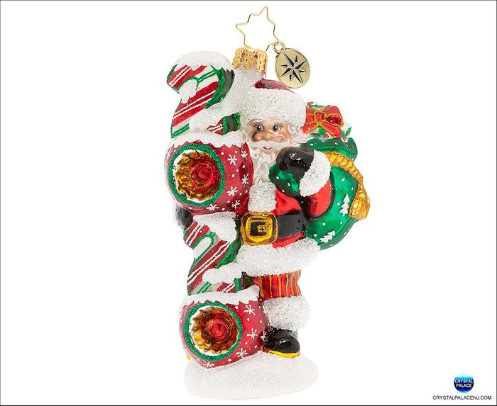 (SOLD OUT) Santa's 2020 Vision Christmas Ornament