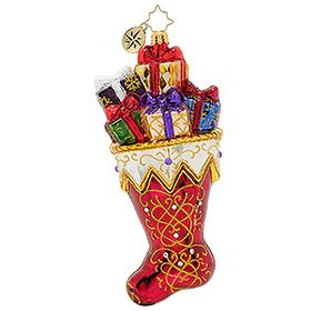 (SOLD OUT) Limited Edition  A Sock Fit For Royalty Christmas Ornament
