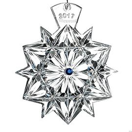 2017 Crystal Snowflake Wishes Friendship Christmas Ornament