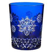 2017 Snowflake Wishes Friendship Prestige DOF Glass, Cobalt