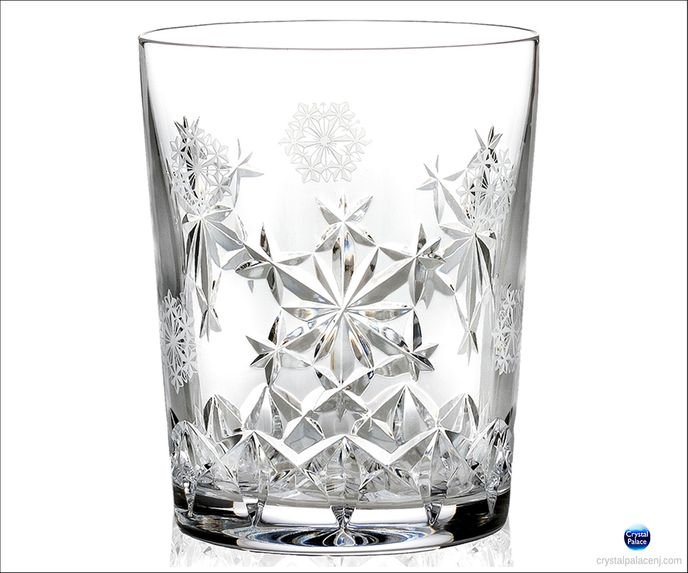 2013 Snowflake Wishes Goodwill DOF Glass